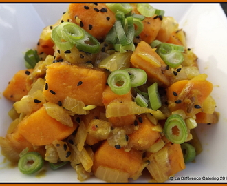 Sweet Potato Curry with Nigella Seeds