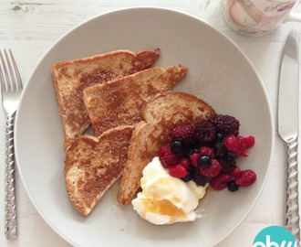 Slimming World breakfast: French toast