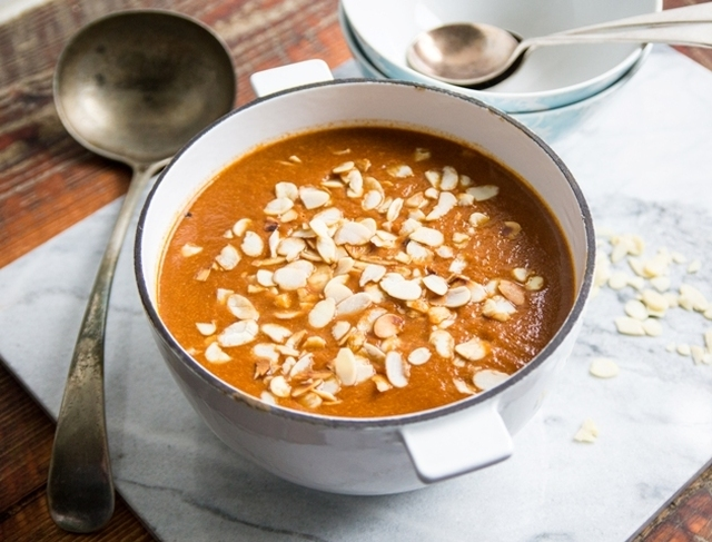 Red Pepper and Sundried Tomato Soup