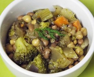 Bean and Vegetable Stew - Family Favourites