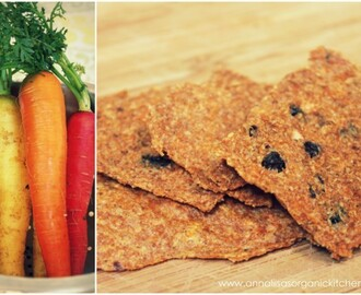 Raw Carrot Juice Pulp Cracker Recipe + Tips on How to Save Money on Food & Waste Less