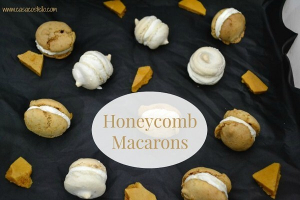 Honeycomb Macarons – Bake of the Week