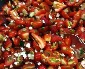 Cherry Tomatoes Summer Salad
