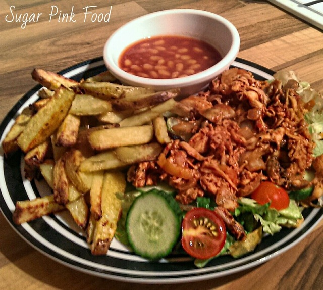 Slimming World Recipe:- Pulled Fajita Chicken