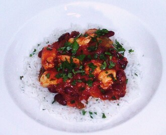 Chicken Chilli with Herb Rice