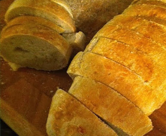 French Bread in a New French Bread Pan-Love it!