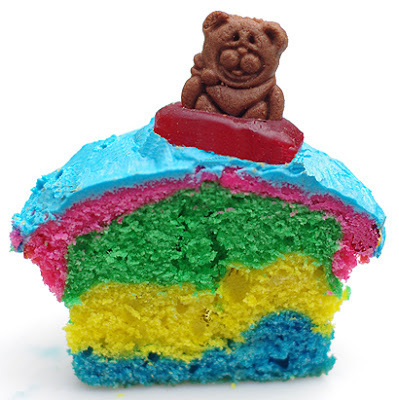 Beach Bear Cupcake Recipe - Hawaiian themed party #2