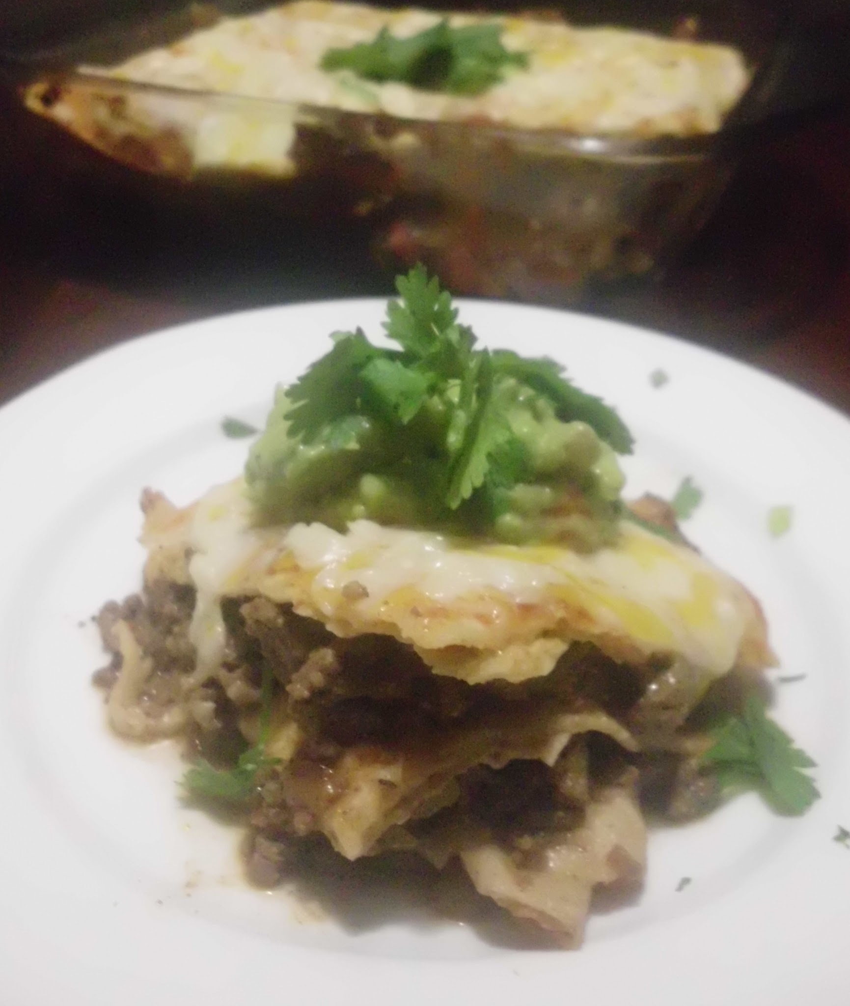 Kids Cooking - Mexican Lasagna