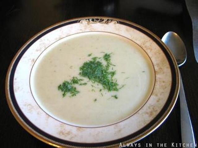 Simple Fancy (Fennel Soup)