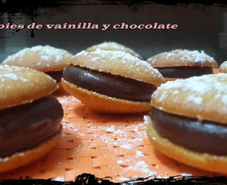 WHOOPIES DE VAINILLA Y CHOCOLATE