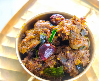 Chettinad Mutton Chukka