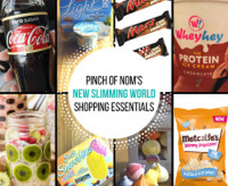 New Slimming World Shopping Essentials – 12/5/17