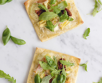 Recept: Mini pizza's met artisjokken