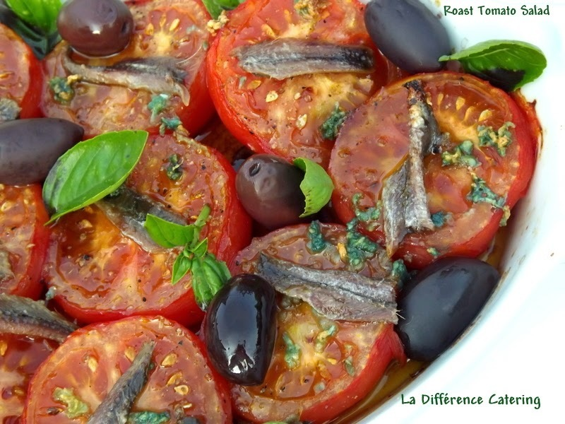 Roast Tomato Salad with Kalamata Olives