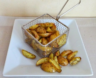 Mini potatoes de pommes de terre grenailles aux herbes de Provence (Mini potatoes with Provence herbs)