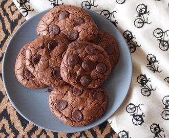 Brookies: Heerlijke brownie cookies!