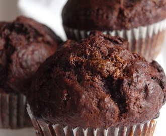 Banana chocolate muffins