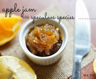 Apple Jam with Speculoos Spices