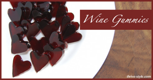 Wine Fruit Snacks – Gummy Wine Hearts – Not For Kids – Great for Your Body!