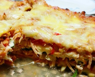Pulled Pork Lasagne