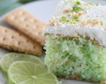 "Key Lime Poke Cake, A Sweet & Easy Dessert That ""Tastes Like Summer"""