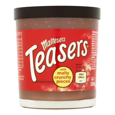 "Maltesers ""Spread With Malty Crunchy Pieces"" 200g - 26% rabatt"