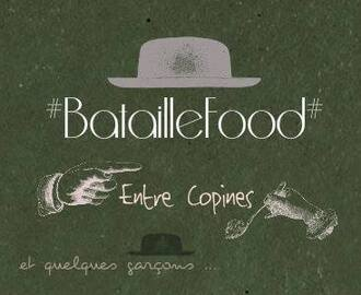 Burger au roquefort et mangue « Bataille food #21″
