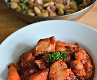 Recipe of the week – Rabbit stew with hot butter bean salad