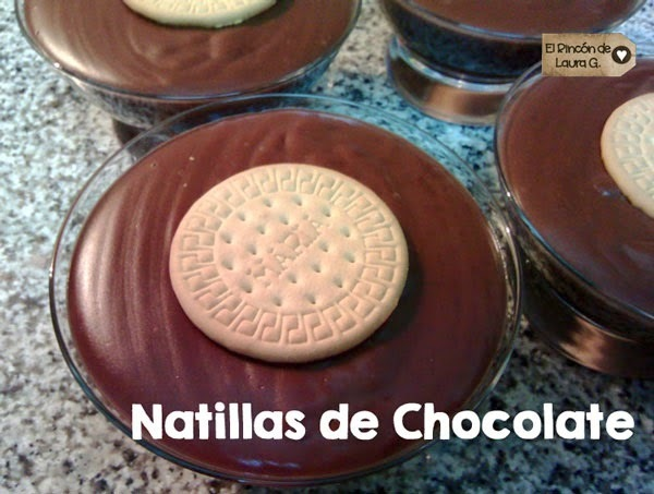 Receta de Natillas de Chocolate • Postre de Chocolate
