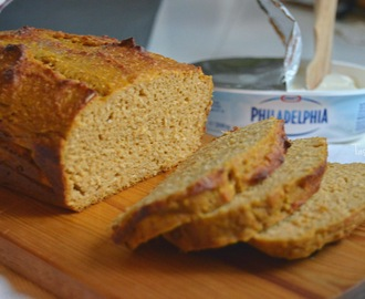 Pumpkin coconut protein bread