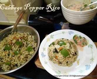 Cabbage-Pepper-Rice