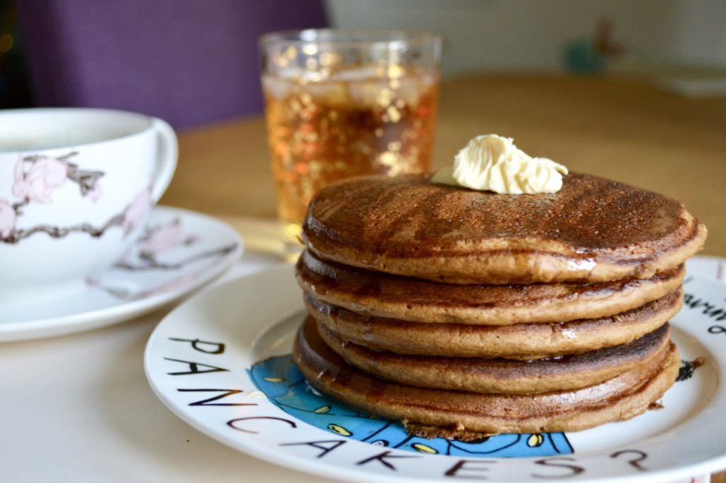 Gluten and Dairy Free Gingerbread Pancakes
