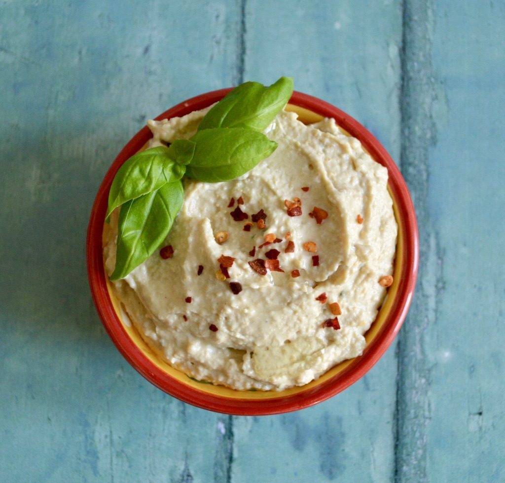 Gluten and Dairy Free Caramelised Onion Hummus