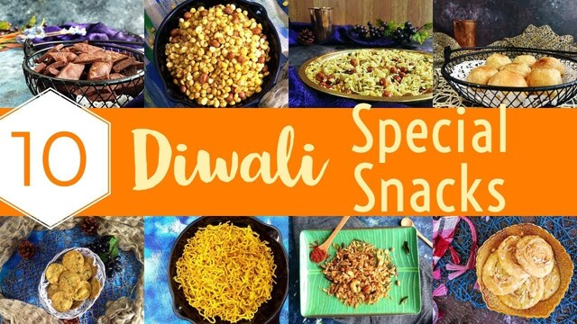 10 Diwali Easy Diwali Snacks Recipes | diwali dry snacks | indian diwali snacks | diwali recipes