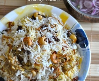 Malabar Mutton Biriyani – Kerala Cuisine – with Video