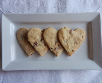 Bara Brith Spiced Shortbread for St Dwynwen's Day