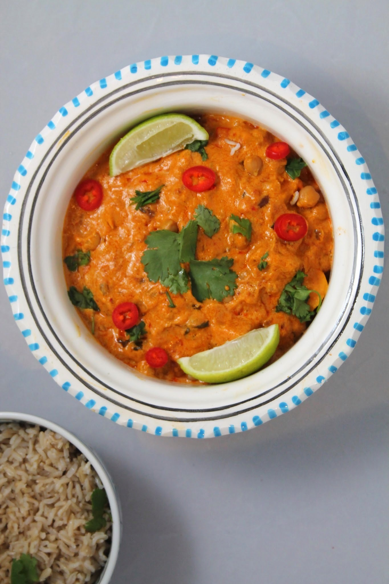 Chickpea & Sweet Potato Coconut Curry (Vegan)