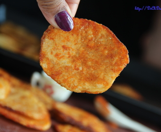 Spiced Potato Chips – Baked