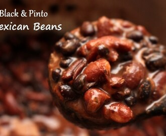 Black & Pinto Mexican Beans