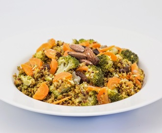 Indian Vegetable Biryani with Quinoa