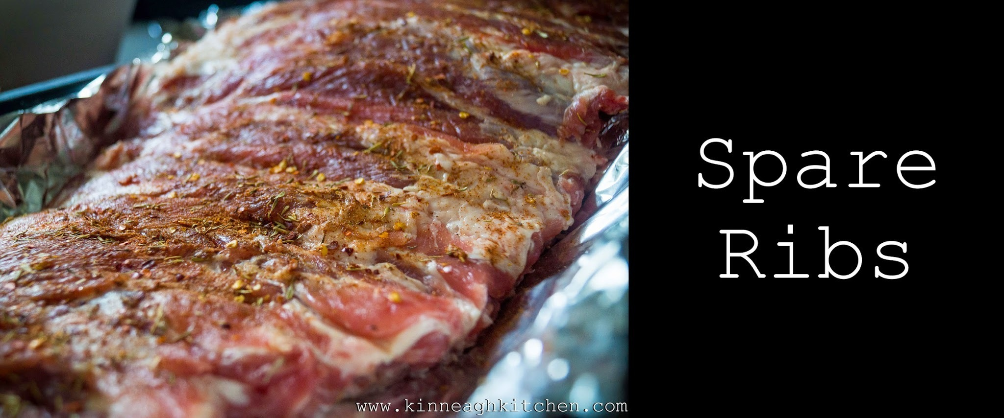 Slow Cooked Spare Ribs