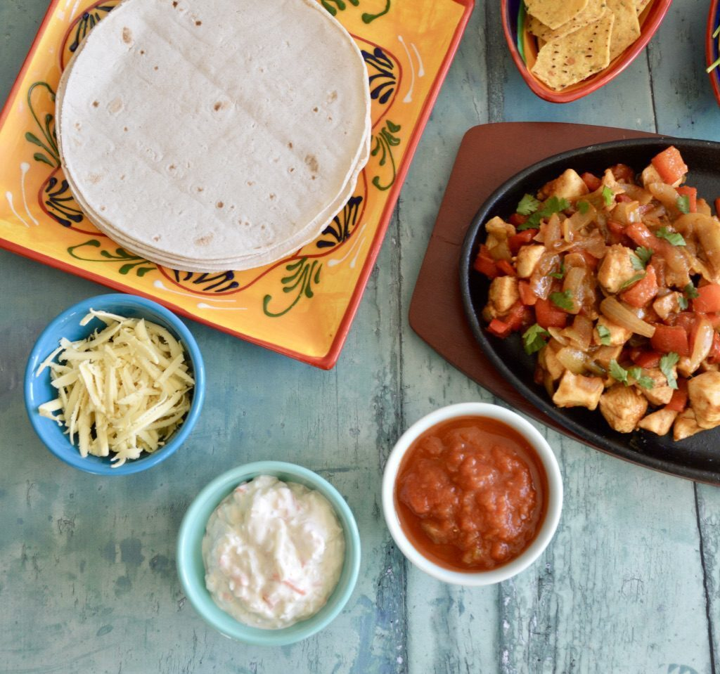 Gluten and Dairy Free Mexican Chicken Sizzle