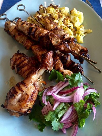 Pomegranate and Honey Glazed Chicken – A perfect summer dish