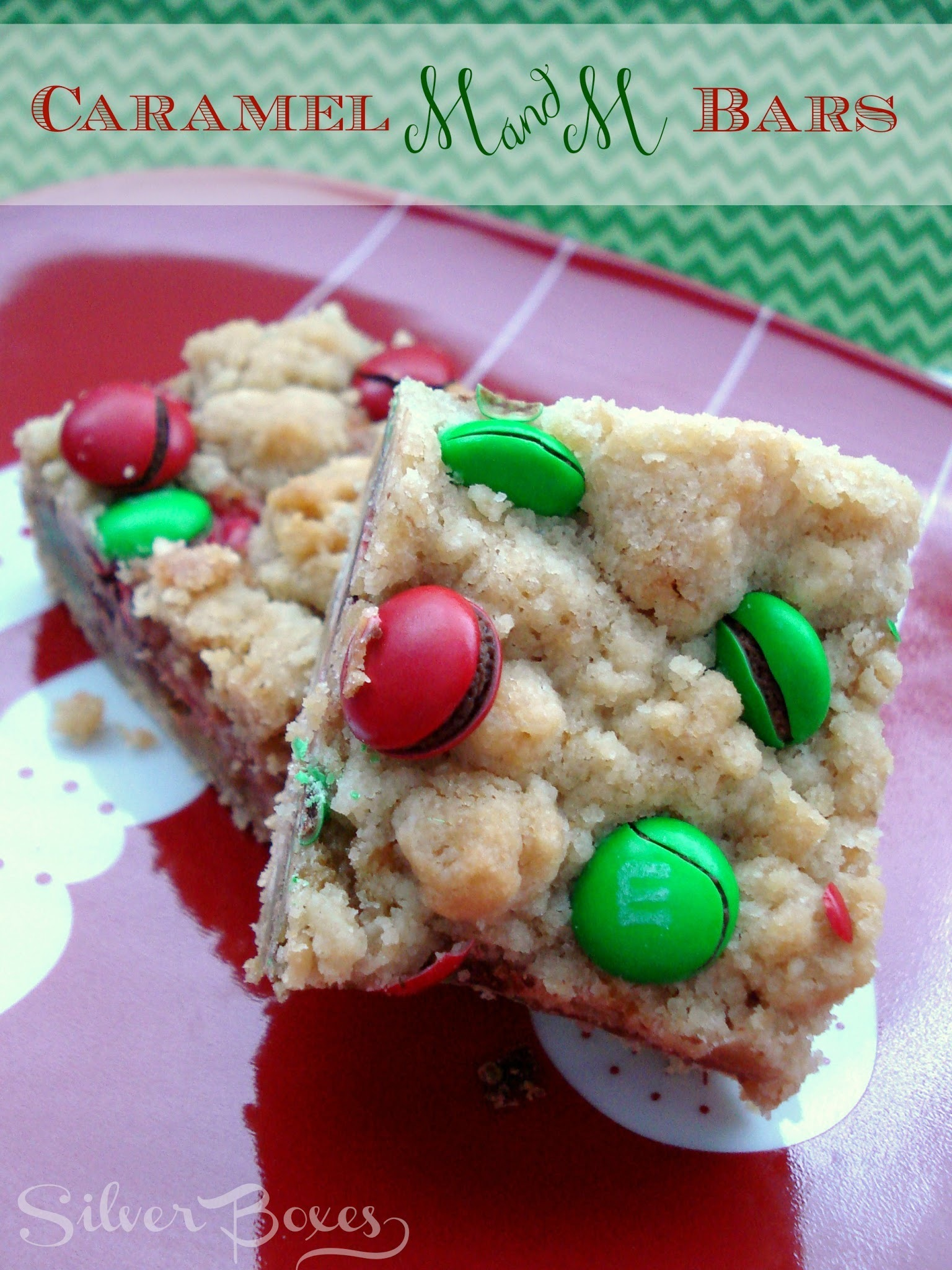 Caramel M&M Bars