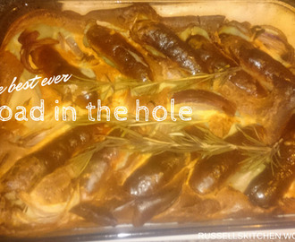 Best ever toad in the hole recipe