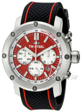 TW Steel TS1 Tech Röd/Gummi Ø48 mm