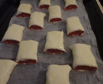 party snack – sausage roll