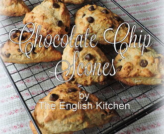 Chocolate Chip Scones . . .  low fat