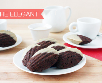 {Cookie Week} Mocha Madeleines