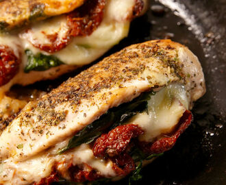 Caprese Stuffed Chicken